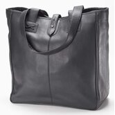 Bridle Oversized Tote in Black