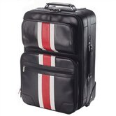 Racing Stripe Rolling Suitcase