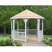 10' Vinyl Gazebo