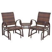 Charlevoix Tete-a-Tete Seating Group