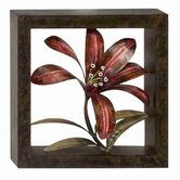 Cosmopolitian Flower Metal Wall Décor
