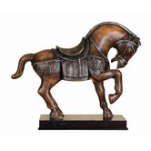 Toscana Polystone Tang Horse