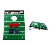 Football Bean Bag Toss and Corn Hole Toss Game Set