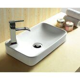 10.12&quot; X 4.84&quot; Rectangular Bathroom Self Rimming Sink