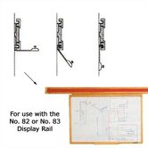 Claridge Products Map Rails & Hangers