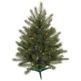 Blue Spruce Instant Shape 7' Artificial Christmas Tree