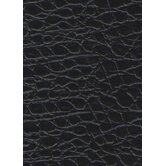 "Rainforest 7-5/8"" x 45-7/8"" Recycled Leather Plank in Alligator Noir"
