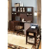 Grand Expressions Americana L-Shape Desk Office Suite