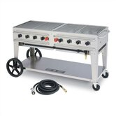 60&quot; Rental Grill Single Inlet