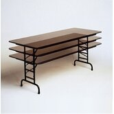 Adjustable Height Small Melamine Folding Tables