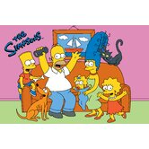 The Simpsons Family Fun Time Kids Rug