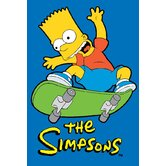 The Simpsons Jumping High Kids Rug