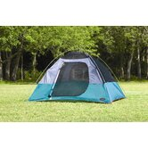 Hastings Square Dome Tent in Alpine Green / Steel Gray / Chile Pepper
