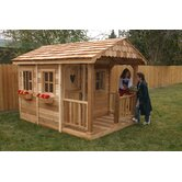 Three Functional Windows and Full Dutch Door for Little Squirt Playhouse Set