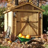 SpaceMaker Wood Storage Shed