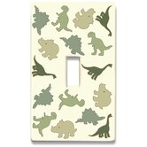 Dinosaurs Decorative Light Switch Cover - Single Toogle Switch