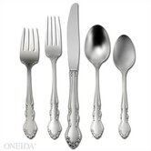 Satin Dover 5 Piece Flatware Set