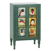 Pati B Distressed Bird Cupboard