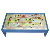 80 Piece Train Set with Table