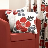 Darina Single Cushion Cover in Red