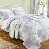 Patchwork Bedding Set in Lilac