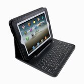 Pad Folio iPad/Bluetooth Keyboard Case with Detachable Sleeve