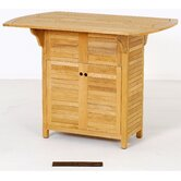 Teak Bacota Home Bar