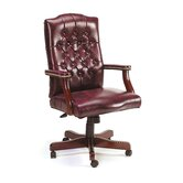 Traditional Tufted Style High-Back Office Chair