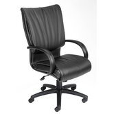 Modern Mid-Back Leather Plus Executive Chair