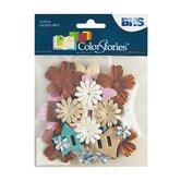 Colorstories Paper Potpourri Flowers (Set of 22)