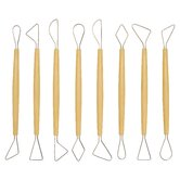 Modeling Clay Tool Set (Set of 8)