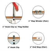 Best-Rite® Map Rails & Hangers