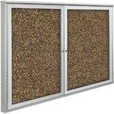 Weather Sentinel Double Door Outdoor Enclosed Cabinet