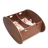 Contemporary Twin Cradle