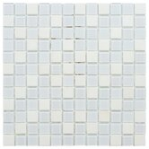 Chroma 11-1/2&quot; x 11-1/2&quot; Square Glass and Stone Mosaic Wall Tile in Cordia