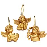 Angels Shower Curtain Hooks (Set of 12)
