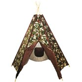 Green Camoflage TeePee