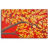 "Hand Painted ""Luminous Cherry Blossom "" Oil Canvas Art"