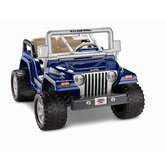12V Power Wheels Jeep Wrangler Rubicon