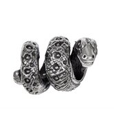 Signature Moments Sterling Silver Snake Bead