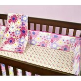 Wildflowers Crib Bedding Collection