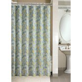 Microfiber Shower Curtain in Danko Leaf