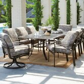 Southern Cay Cushion 9 Piece Dining Set