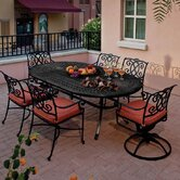 Volterra Cast Dining Seating Group