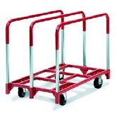 "Panel Mover 8"" Quiet Poly Casters, All Swivel, 3 Standard Uprights"