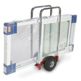 Heavy Duty Caddy Extra Wide with 2 Removable Uprights, Airless Wheels