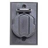 Outdoor Electrical Outlet for Outdoor Lamp