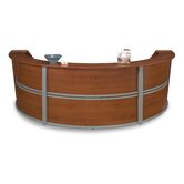 Reception Furniture Triple Unit Curved Station