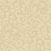 French Dressing Scroll with Texture Wallpaper
