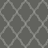 Candice Olson Dimensional Surfaces Moroccan Lattice Sand Wallpaper
